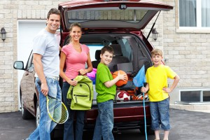 Organizing Family Road Trip