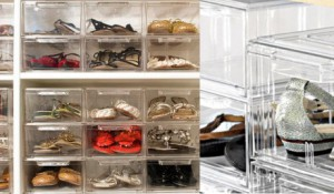 Shoe Organizer, Storing shoes