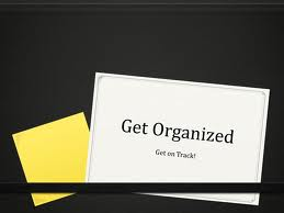 5 Tips to Get Organized