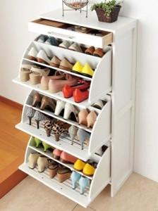 Shoe Organizing, Storing shoes