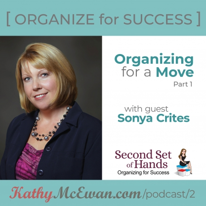 Organizing for a Move Part 1