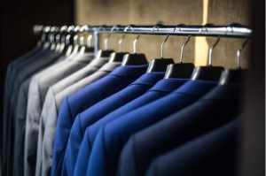 Organize your closet - sort by category & colour