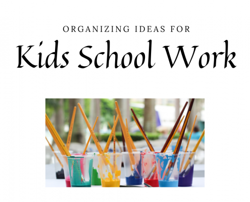 Tips for Organizing Kids Ho